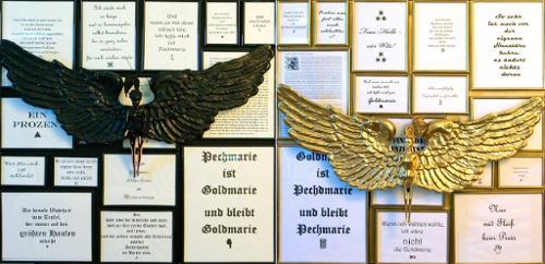 Das Märchen von Goldmarie und Pechmarie