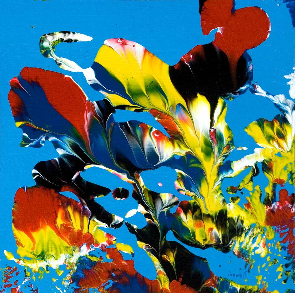Stephan Reichmann Oil On Paperpaperboard Im Garten Eden