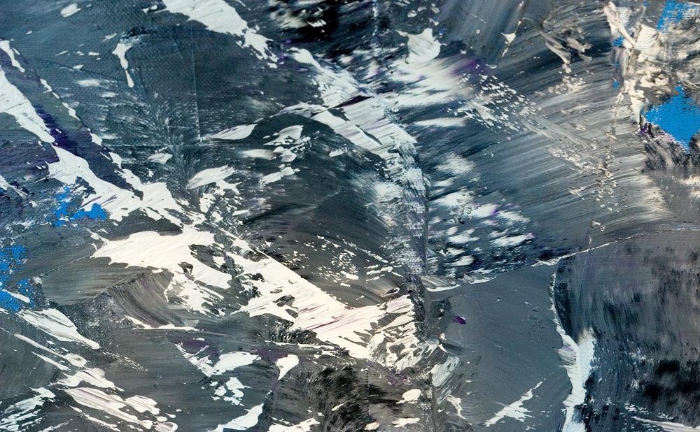 Gebirgsbach (Schneeschmelze)