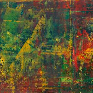 Abstraktion mit Grün