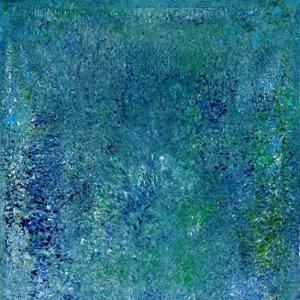 Seerosen - Sechs kleinere Bilder für Claude Monet