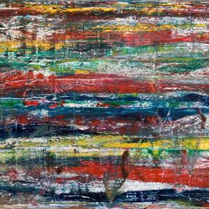 Landschaft im Sommer - sieben große Bilder für Franz Marc